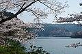 津風呂湖 みかえり橋南詰にて 2014.4.08 - panoramio.jpg