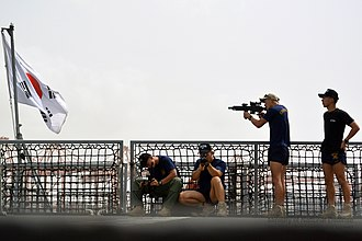 Republic of Korea Navy Special Warfare Flotilla - Image: 국방부 기획 사진전, 아덴만에서 온 편지 청해부대 장병들의 사진이야기 The Story of Choeng Hae Unit, Republic of Korea Navy (9227484621)