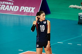 Kim Yeon-koung South Korean volleyball player