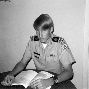 Hal Prewitt - 1970 Cadet Captain Prewitt