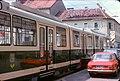 038L05050678 Graz Strassenbahn, Doppelgelenkwagen, Annengasse.jpg