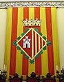 043 Ajuntament de Terrassa, sala de plens, escut de la ciutat.JPG