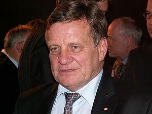 Hartmut Mehdorn, chairman of the board at Deut...