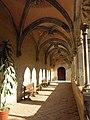 081 Sant Jeroni de la Murtra, galeria nord del claustre.JPG