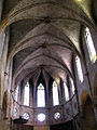086 Santa Maria de Pedralbes, nau, finestrals i volta.jpg