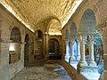 091 Monestir de Sant Benet de Bages, claustre, galeria sud.jpg