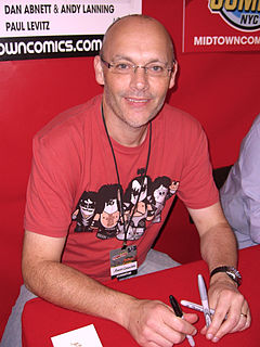 Andy Lanning British comic book writer and inker