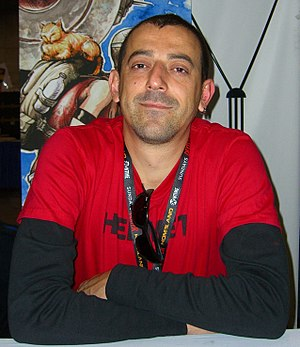 Yıldıray Çınar - Çınar at the New York Comic Con in Manhattan, October 16, 2011.