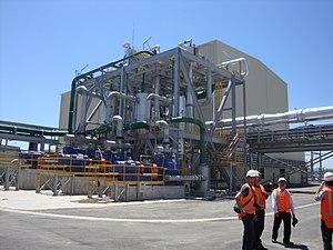 Kawerau Power Station - Image: 100 MW Geothermal Power Plant at Kawerau NZ