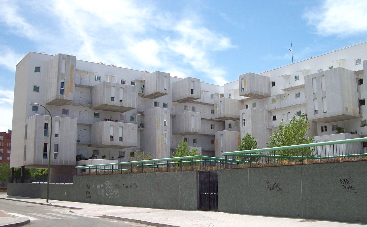 Archivo 102 dwellings by dosmasuno madrid for Arquitectura 15 madrid
