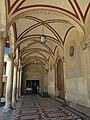 108 Església de Sant Sadurní, pl. Mossèn Salvans (Sant Sadurní d'Anoia), porxo.jpg