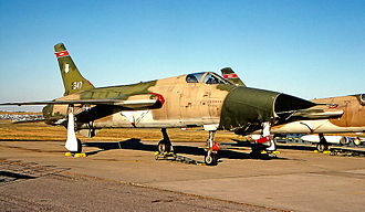 127th Command and Control Squadron - Republic F-105G 63-8347, 1971