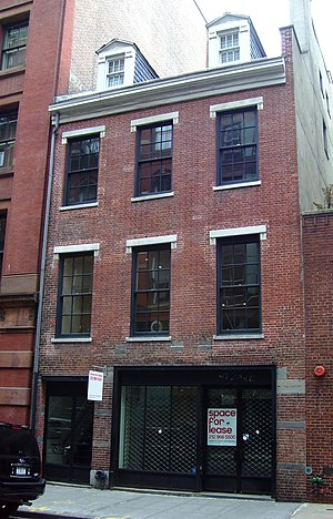 Mercer Street (Manhattan) - 149 Mercer Street, between Houston and Prince Streets