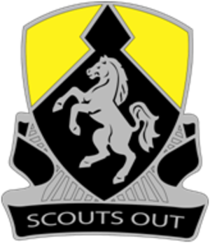 Troop B, 1-153 Cavalry - Image: 153rd Cavalry Regiment (United States)