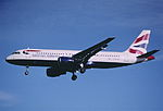 158au - British Airways Airbus A320-111, G-BUSC@LHR,27.10.2001 - Flickr - Aero Icarus.jpg