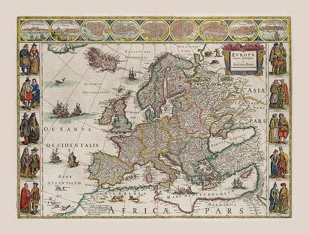 Europe, 1803