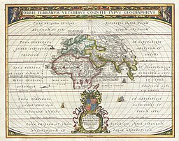 1650 Jansson Map of the Ancient World - Geographicus - OrbisTerrarum-jansson-1650