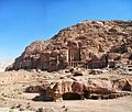 16 Petra Monastery Trail - A View of the Urn Tomb - panoramio.jpg