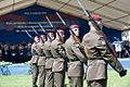 16 obljetnica vojnoredarstvene operacije Oluja 05082011 Pocasno zastitna bojna pocasno ceremonijalni program 387.jpg