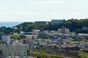 171008 View from Shingu Castle Shingu Wakayama pref Japan04nt.jpg
