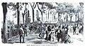 1872-06-24, La Ilustración Española y Americana, Madrid, Manifestación pública por el nombramiento del ministerio radical.jpg