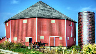 Grimes Octagon Barn United States historic place