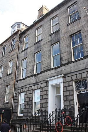 James Jardine - Jardine's home at 18 Queen Street, Edinburgh