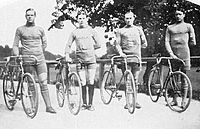 1912 Swedish cycling team.JPG