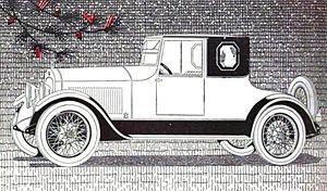 Cole Motor Car Company - 1919 Cole Aero-Eight