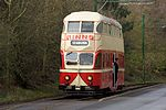 1934 Blackpool Tramway Balloon car 703 (as Sunderland 101) at Beamish Museum, 11 April 2012.jpg
