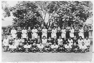 Fiji team in 1948 1948 Fiji rugby union team.jpg