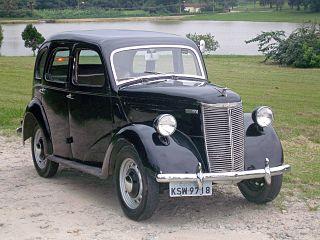 Ford Prefect car model