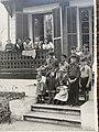 1949 photo of Boys wearing Barretinas in Viladrau, Girona, Catalunya, Spain.jpg