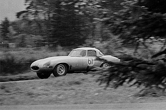 Group 3 (racing) - A Group 3 Jaguar E-type competing in the 1963 Nurburgring 1000.