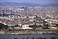 196R14180890 Blick vom Donauturm, Handelskai, links Frachtenbahnhof Wien Nord, Innstrasse, im Hintergrund AKH.jpg