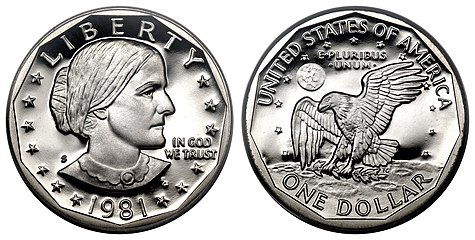 Susan B Anthony Dollar Wikipedia