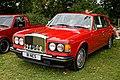 1990 Bentley Turbo R 6750cc at Hatfield Heath Festival 2017.jpg