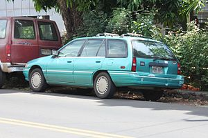 Mercury Tracer - Rear view