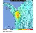 1992 Murindó earthquake ShakeMap.jpg