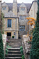 1992 Snowshill Manor steps to west face, Gloucestershire England.jpg