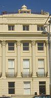 20-32 Brunswick Terrace, Hove (Nr. 26 montrante Kupolon de Iama Sinagogo).jpg