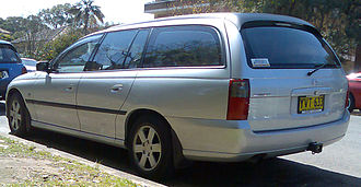 Holden Commodore (VY) - Holden Commodore (VY) Acclaim wagon