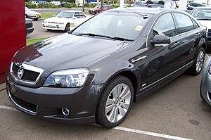 GM Zeta platform - Image: 2006 2007 Holden Caprice (WM MY07) sedan (2007 05 07)
