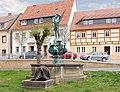 20070420060DR Bad Gottleube (Berggießhübel-B) Traubenbrunnen Markt.jpg