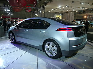 2008 Chevrolet Volt hatchback (concept), photo...