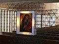 2008 Marienbild Herz Jesu kirche Muenchen in Draht.JPG
