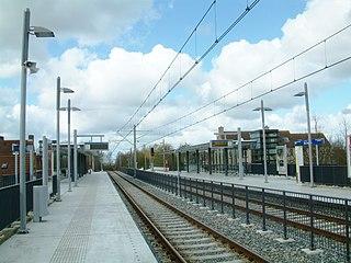 De Leyens RandstadRail station RandstadRail station