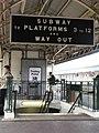 2008 at Bristol Temple Meads - Platform 13 subway sign.jpg