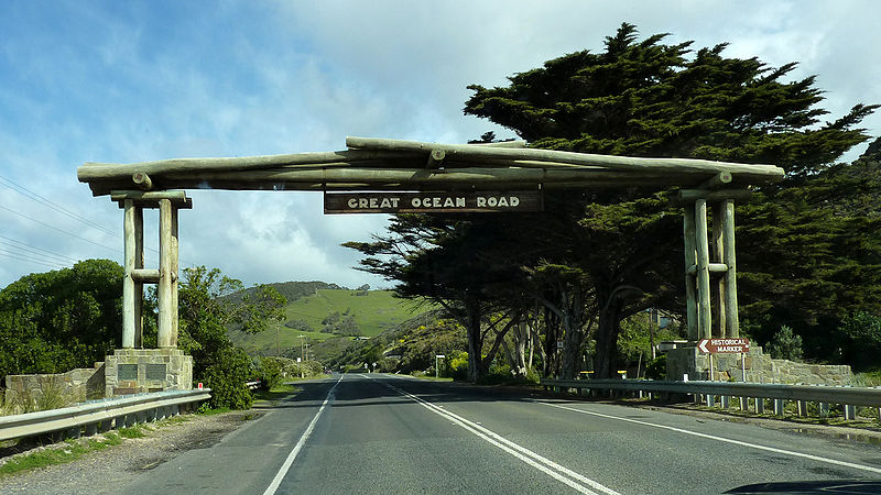 GreatOceanRoad sign