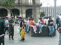 2009 Mexican military giving out swine flu masks.jpg